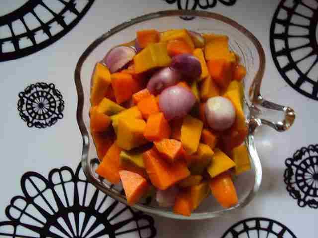 pumpkin carrot salad
