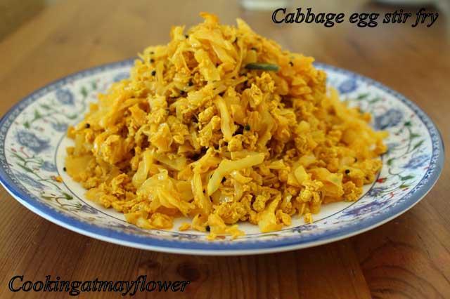 cabbage mutta thoran